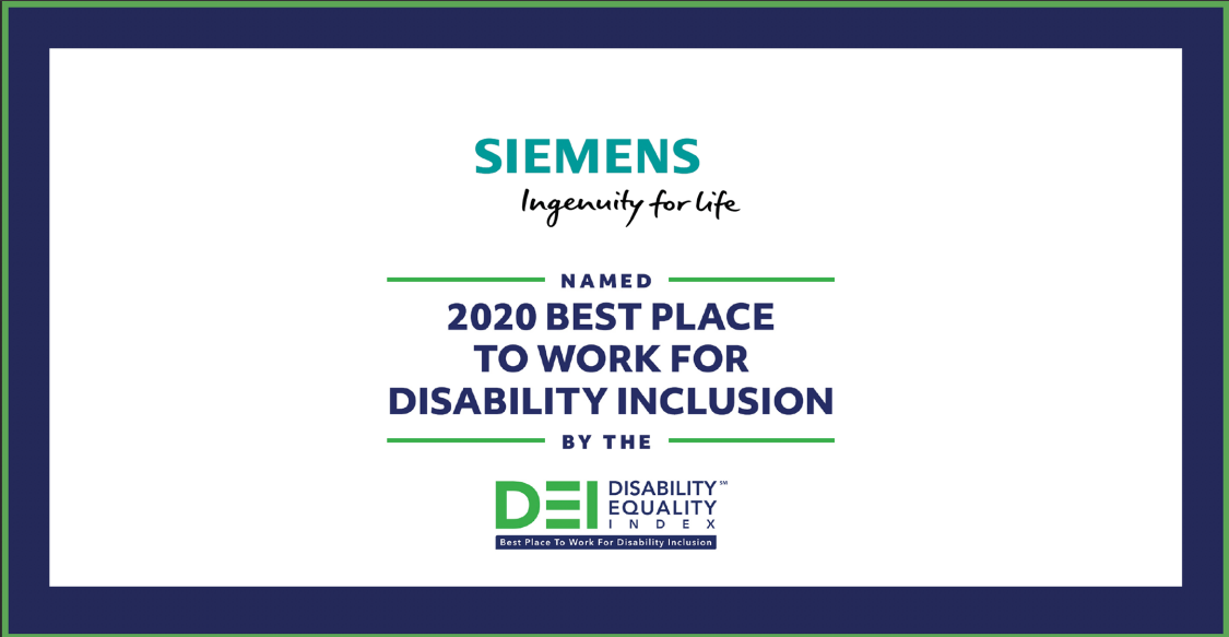 Siemens: Disability Equality Index