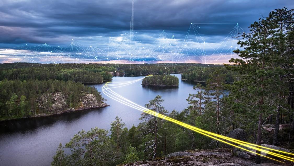 Kraftnät Åland, Europa, Stromversorgung
