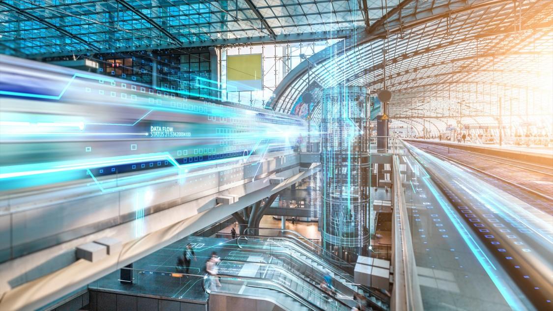 Digitale Bahnhöfe