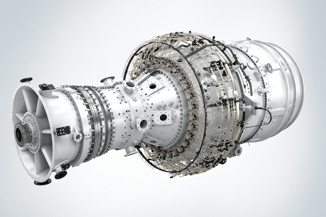 SGT-800 test turbine has been installed at the Rya combined heat and power plant (CHP)
