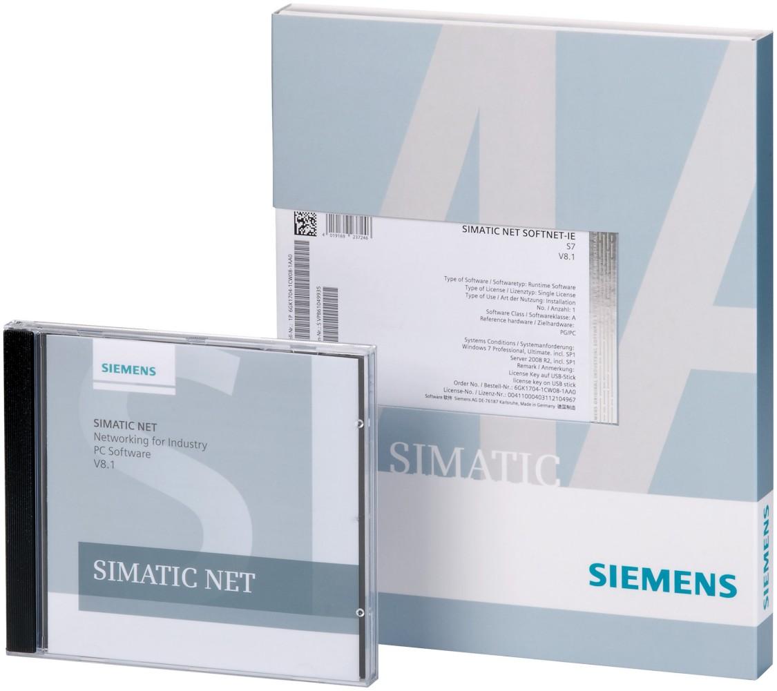Produktbild des Softwarepakets SOFTNET-IE RNA