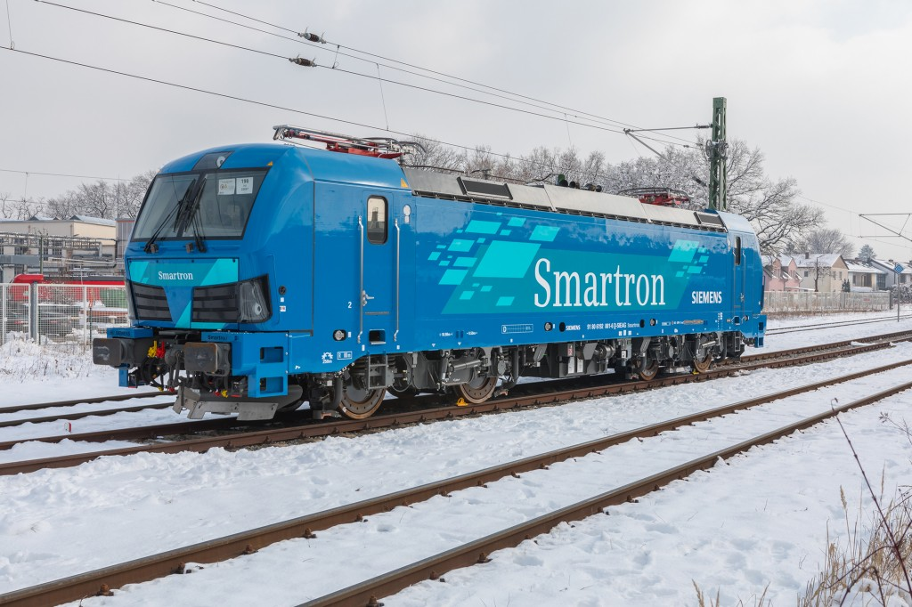 "New Siemens ""Smartron"" locomotive for Germany"