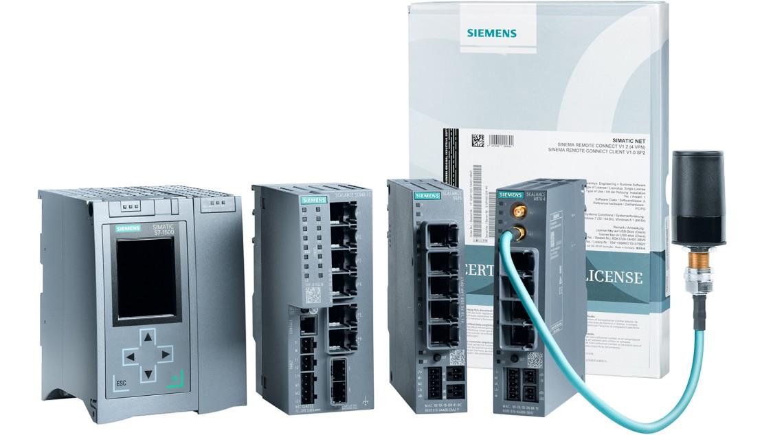 Netzwerksicherheit für die Industrie gemäß Cybersecurity-Empfehlung IEC 62443