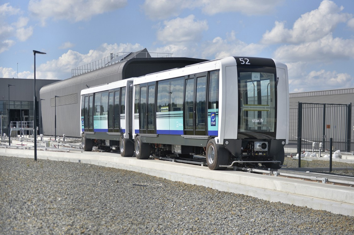 An image of the new Cityval metro from Siemens Mobility which offers unparalleled security, efficiency and availability for passengers