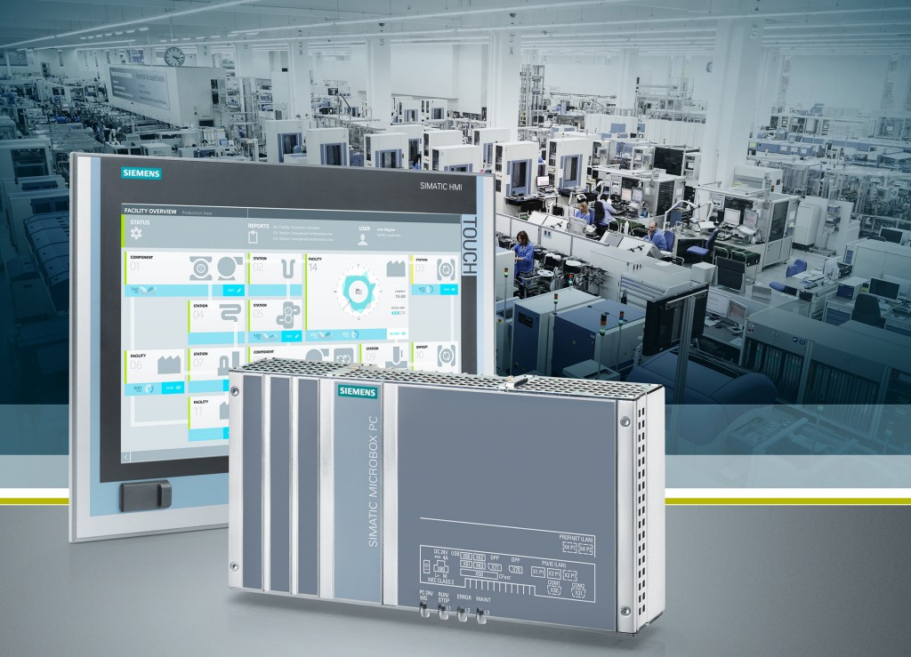 Powerful, fanless, embedded industrial PCs for automation