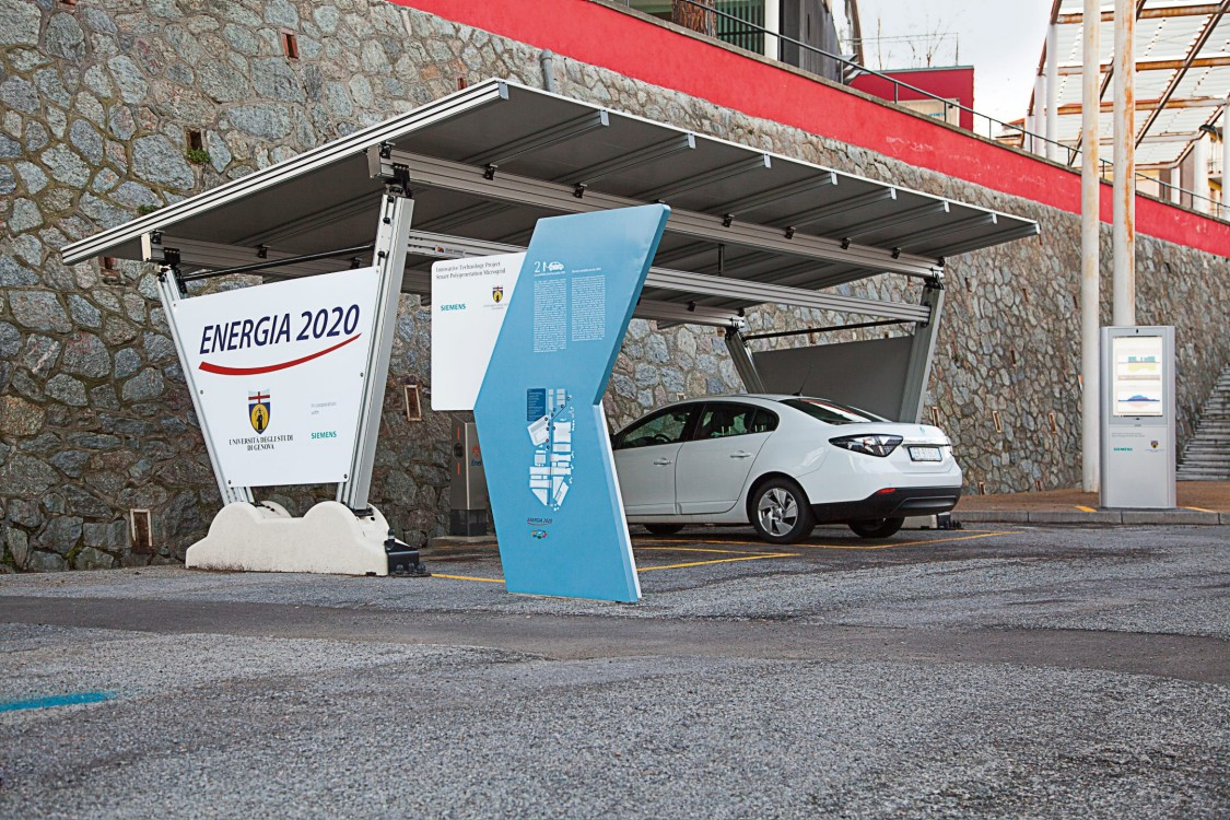 Smart energy supply for the University of Genoa