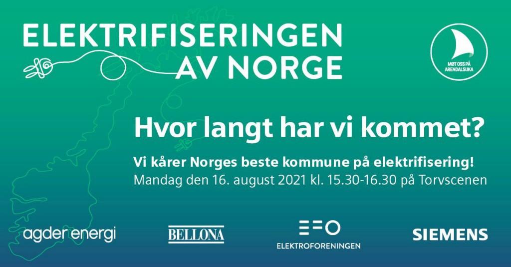 Elektrifisering av Norge - Hvor langt har vi kommet