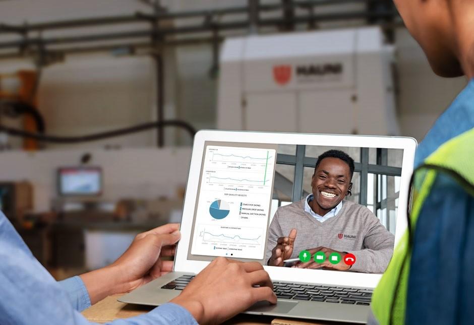 Mit der neuen Automatisierungslösung kann HAUNI seine Anwender bei Problemen schnell und zielgerichtet unterstützen – auch mit Remote Service.