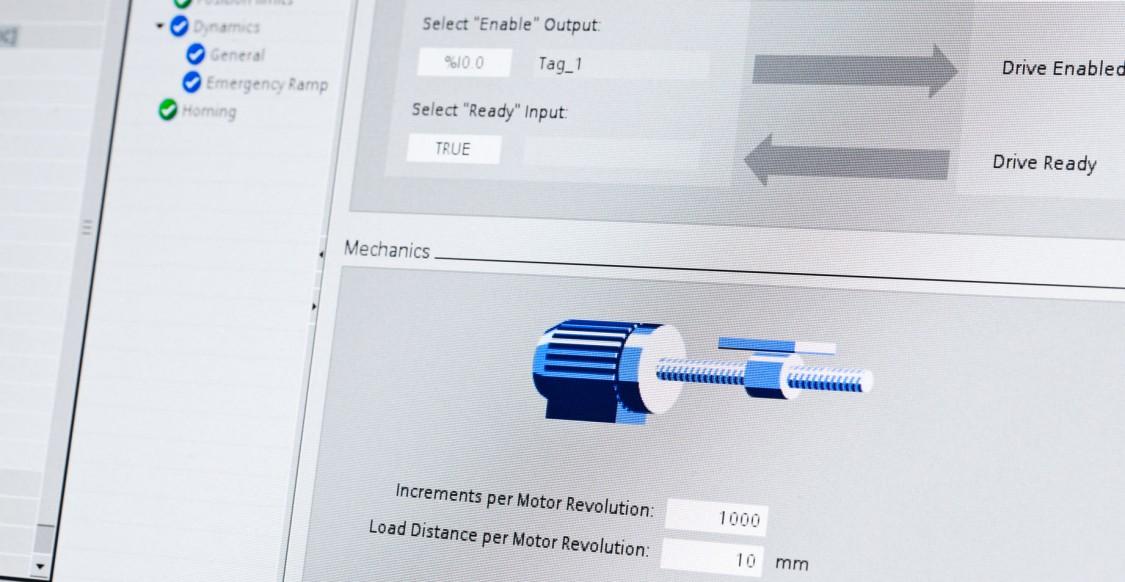 Screenshot of STEP7 Engineering Software