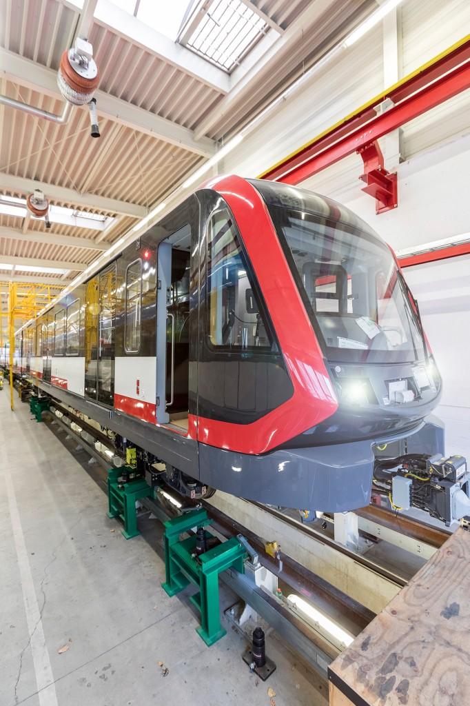 Siemens Mobility präsentiert die erste U-Bahn vom Typ G1 für Nürnberg