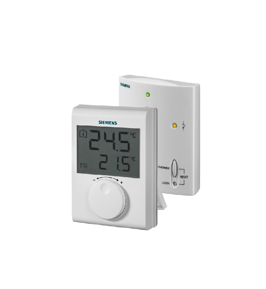bezdrátový elektronický prostorový termostat