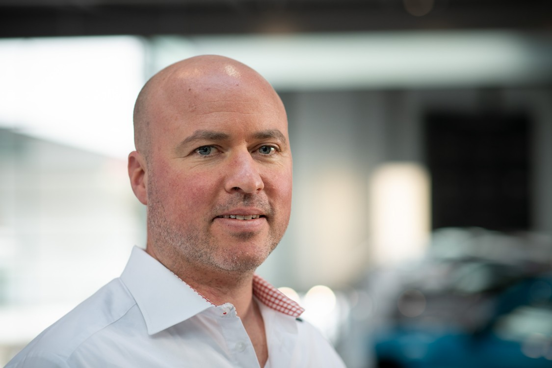 Marc Robl, chef du projet PARiS et responsable du service définition produit et informations après-ventes, Porsche AG