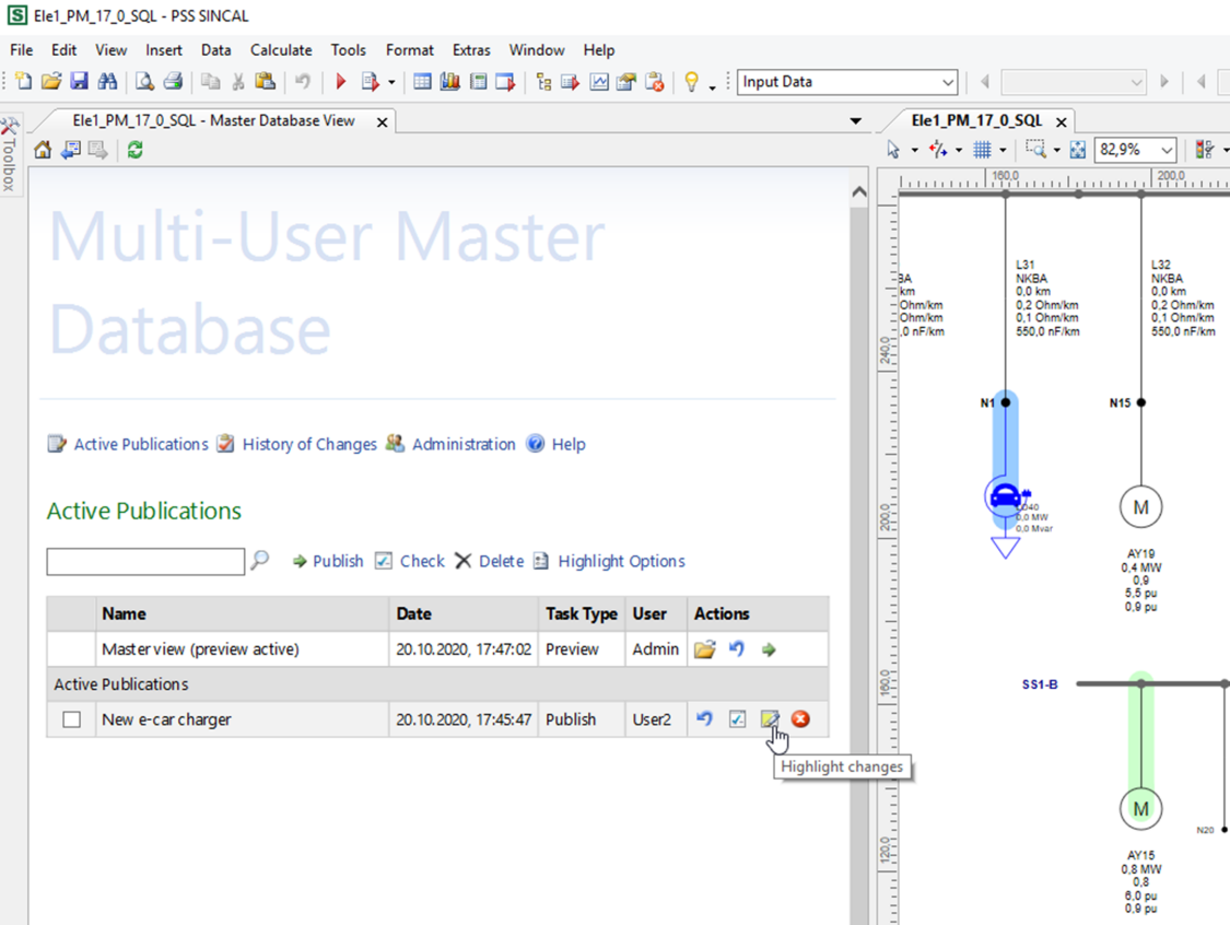 Multi-User Master Database
