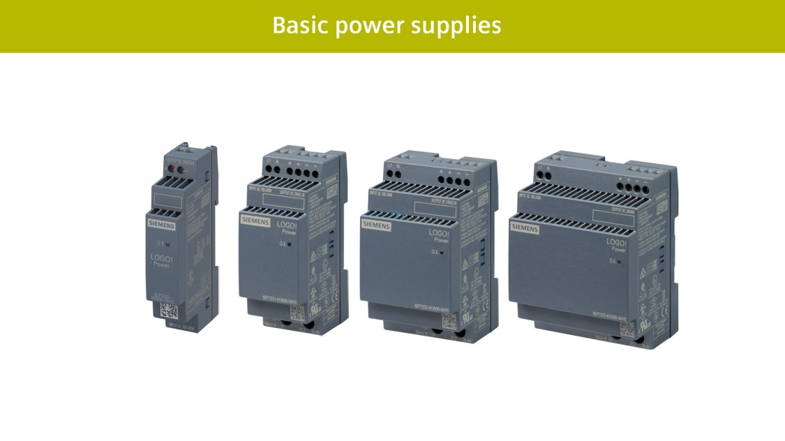 Basic power supplies LOGO!Power