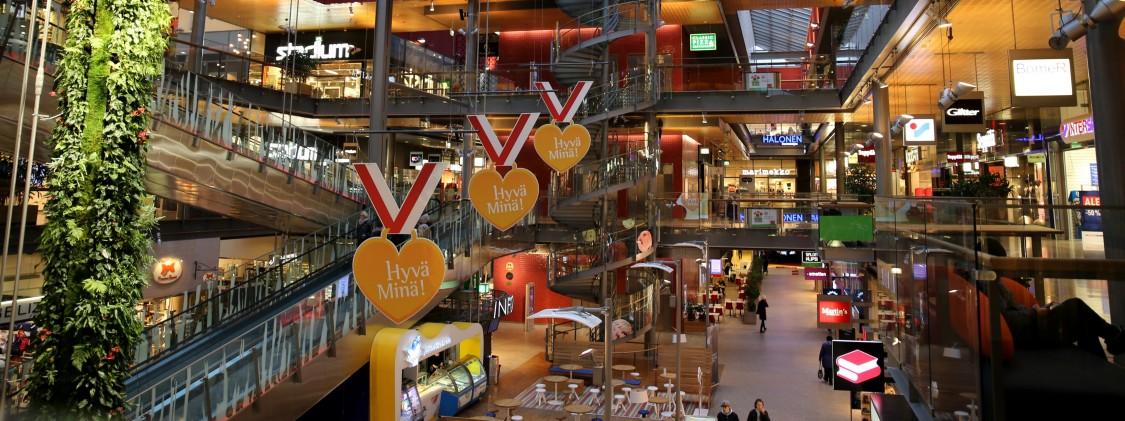 Sello shopping center in Espoo, Finland