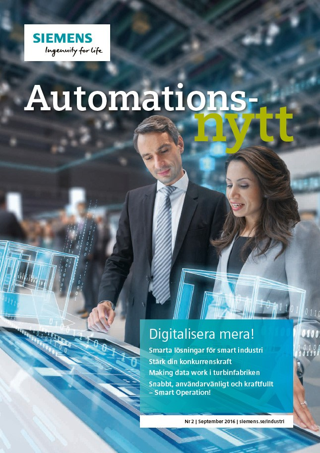Automationsnytt Nr 2 | September 2016