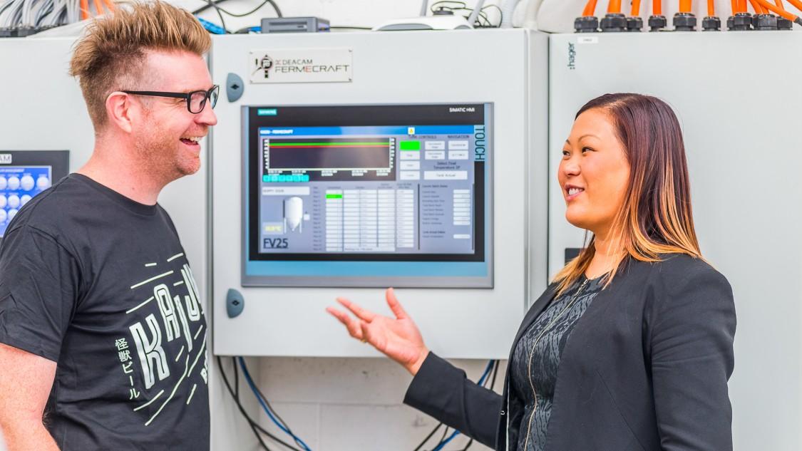Siemens technology at Kaiju Brewery