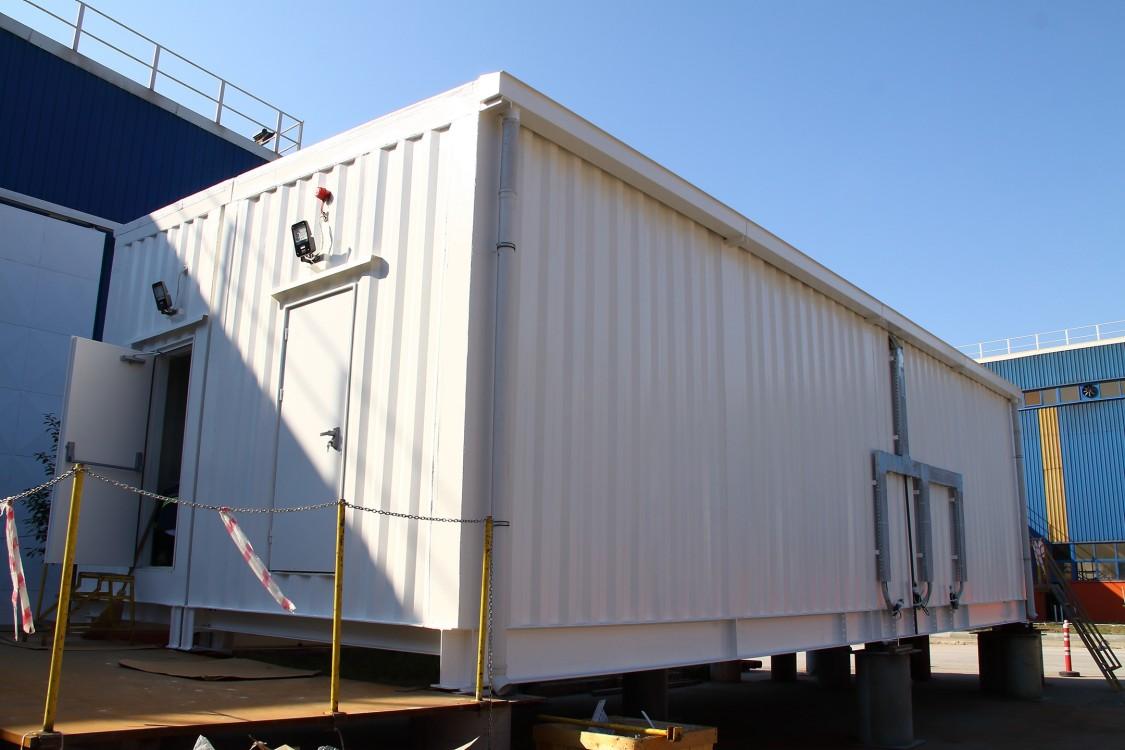 Bakır işleme tesisi için E-House