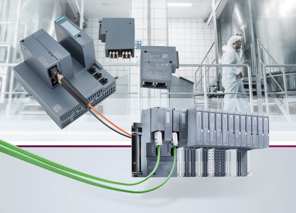 Compact, flexible Profinet switches for process automation