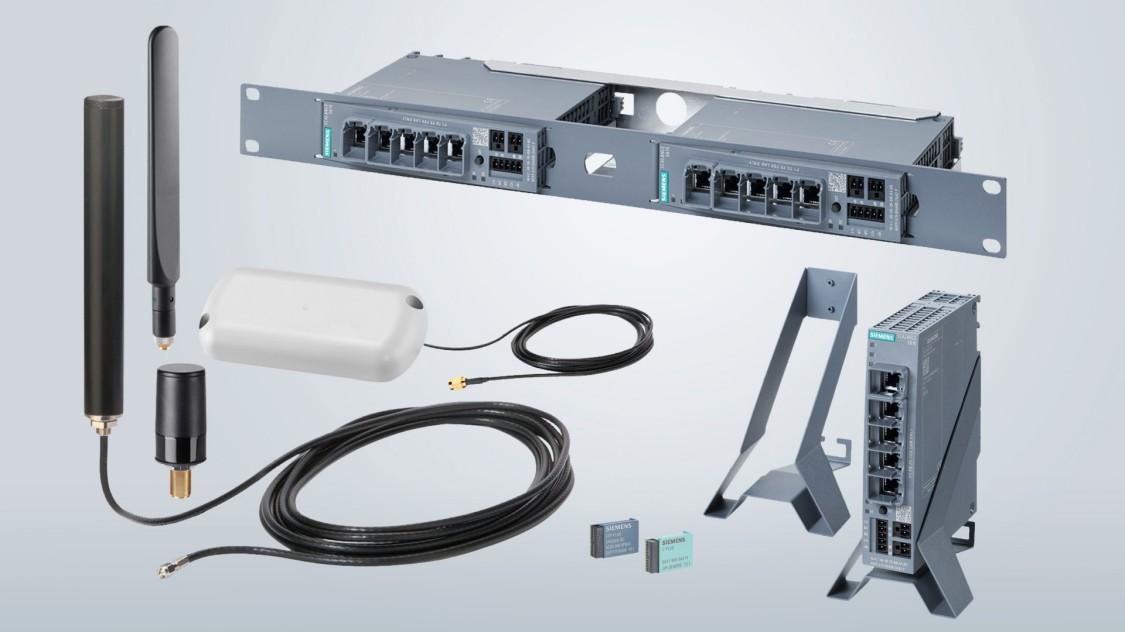 Bild von Mobilfunk-Antennen für die SCALANCE M-Produktfamilie