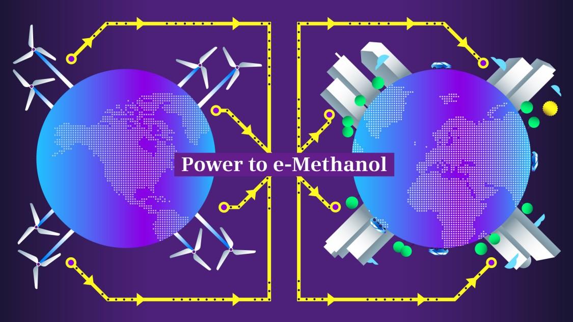 Power-to-methanol