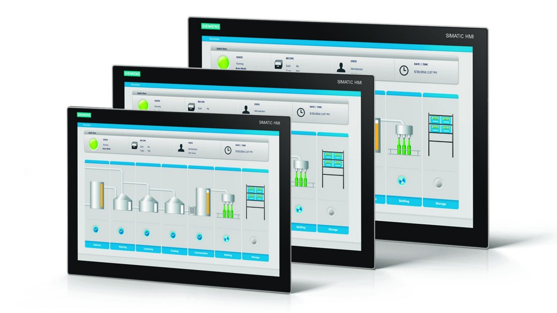SIMATIC Industriella monitorer och tunna klienter