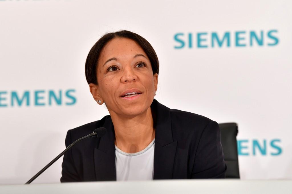 Janina Kugel, Mitglied des Vorstands der Siemens AG und Chief Human Resources Officer.