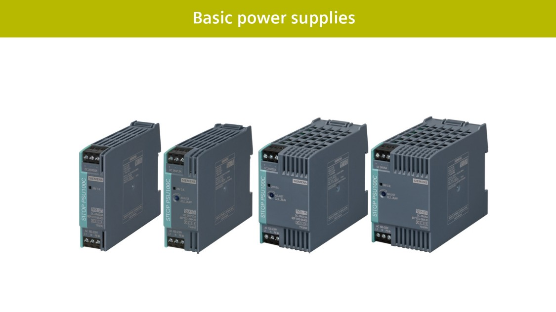 Basic power supplies SITOP compact