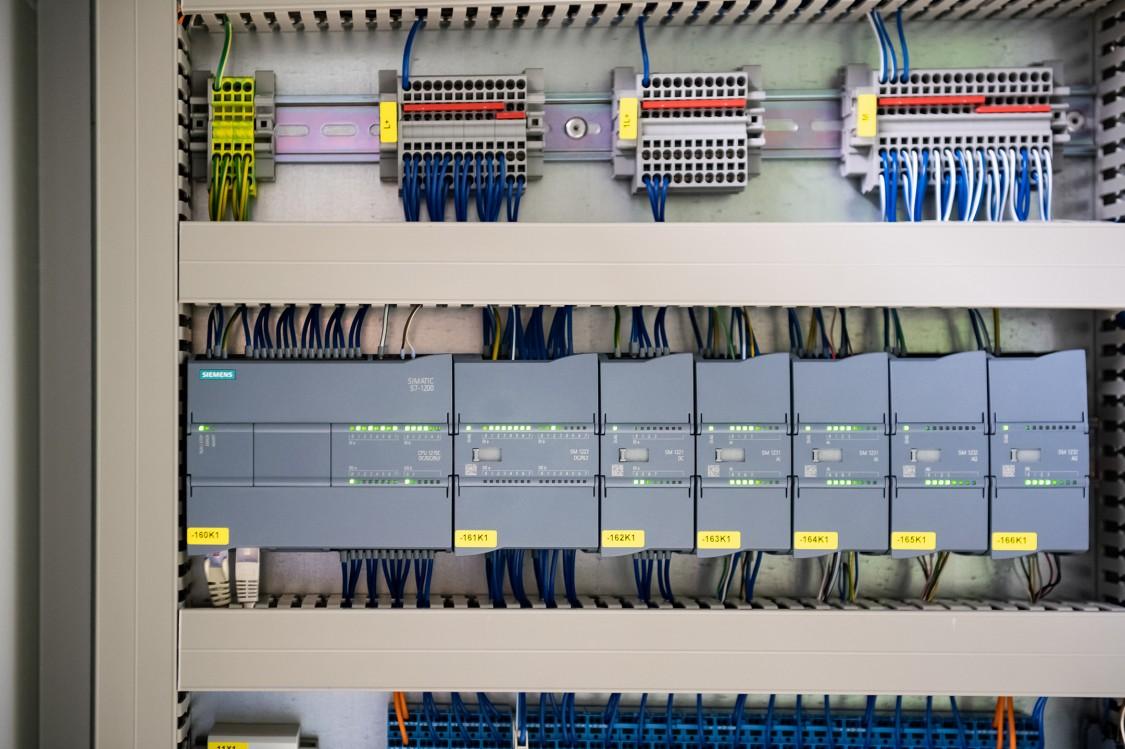 SIMATIC S7-1200 Steuerung im Schaltschrank