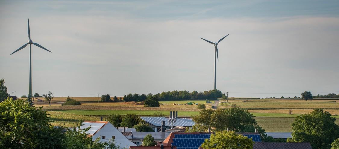 Niederstetten Wind turbines