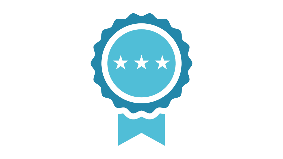 Icon zertifiziert