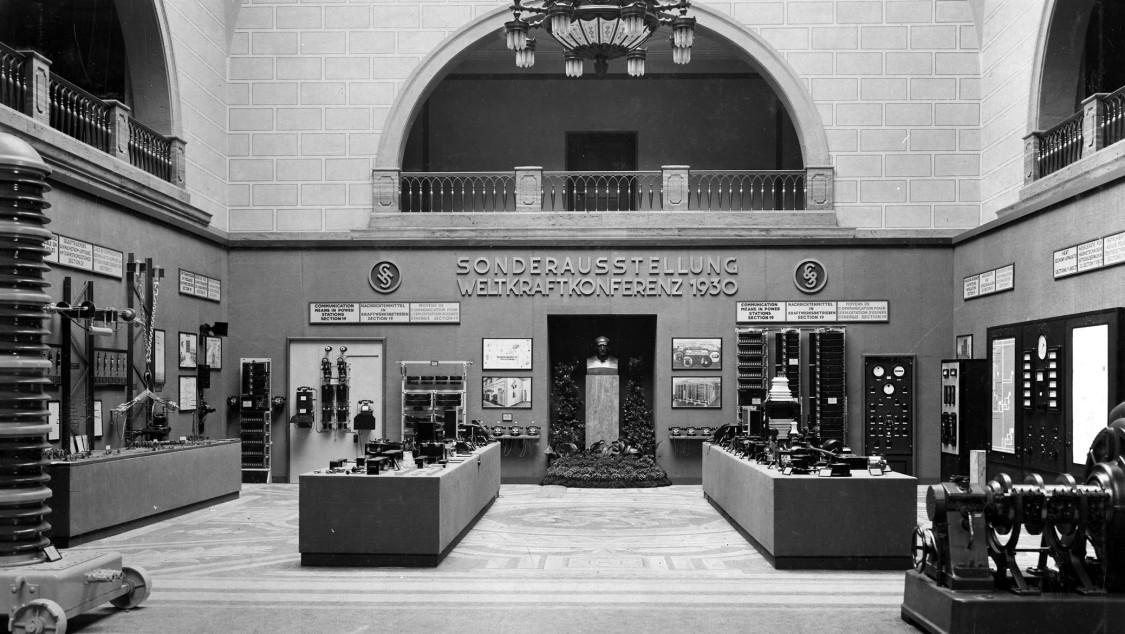 World Power Conference, 1924, Mosaic Hall, Siemensstadt