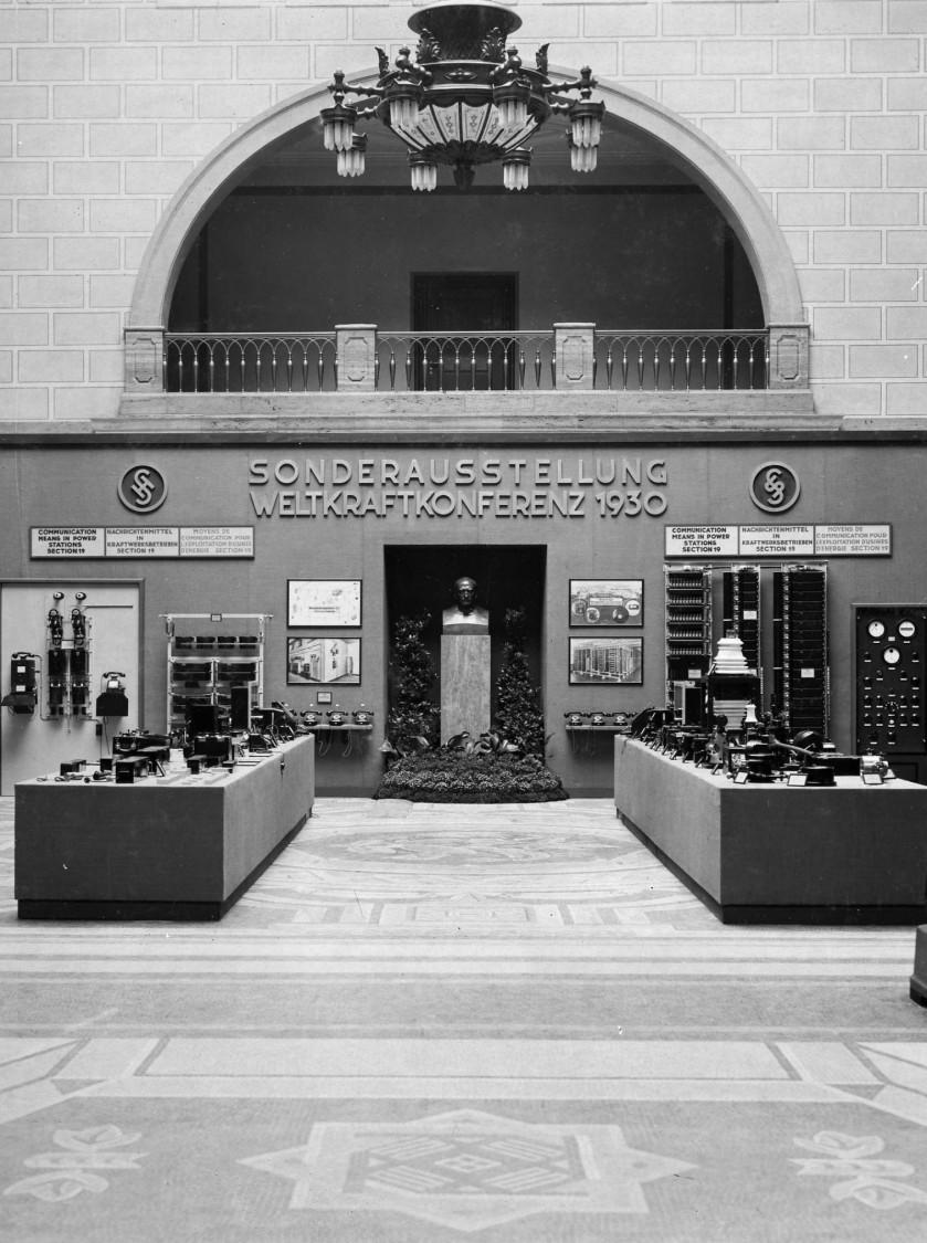 Weltkraftkonferenz 1930, Mosaikhalle, Siemensstadt