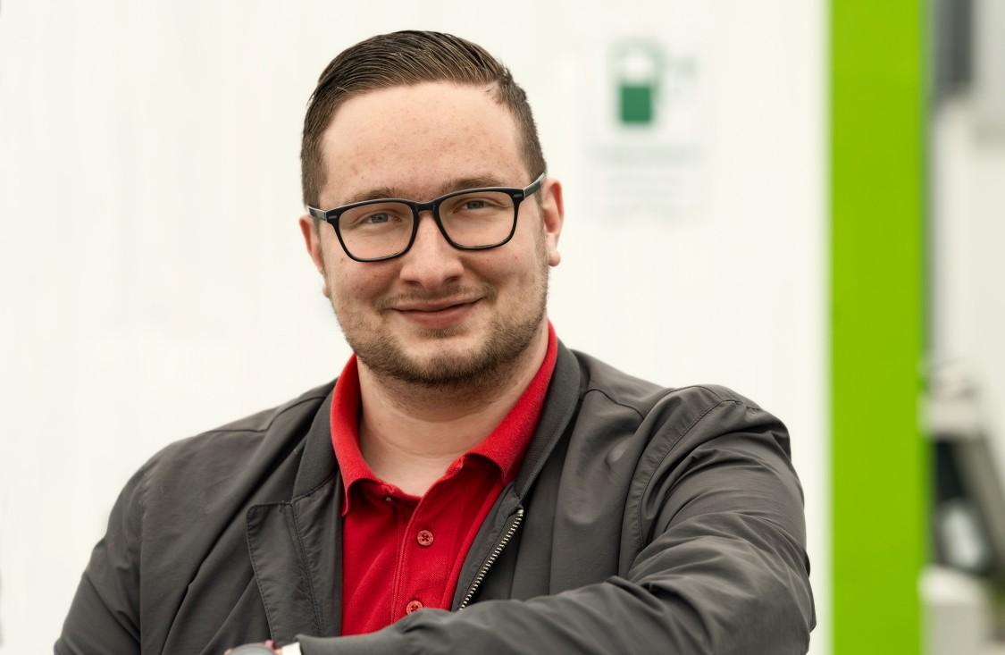 Lukas Schlipf, Gründer und Geschäftsführer der smopi® - Multi Chargepoint Solution GmbH