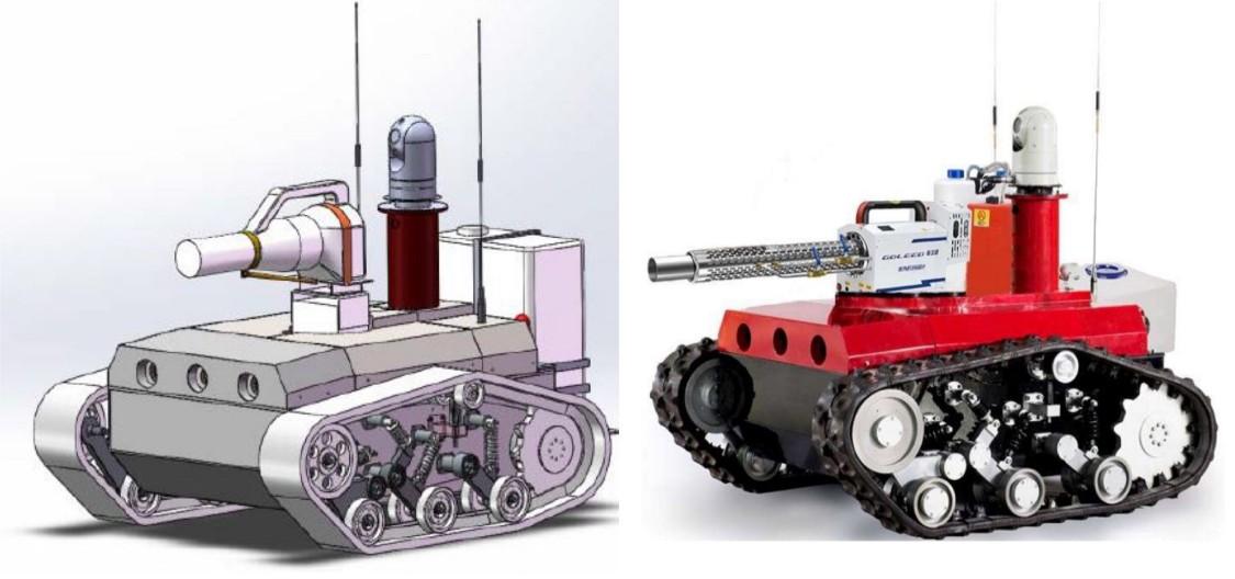 Siemens: robot do dezynfekcji