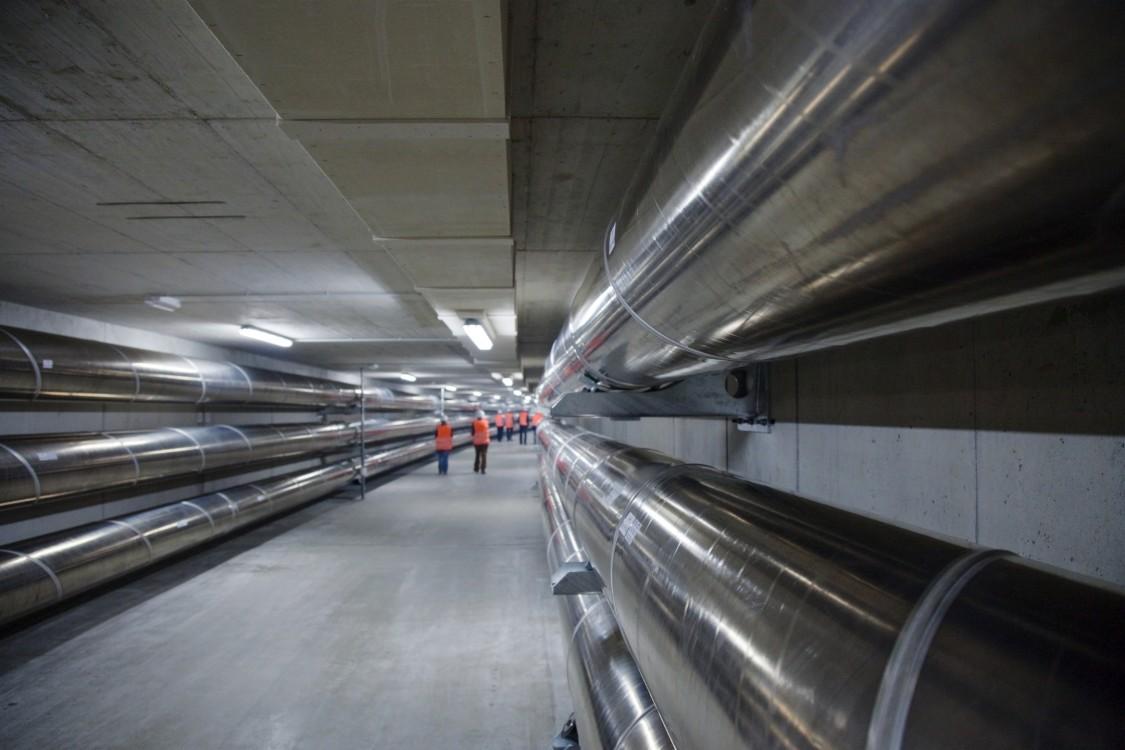 Линии электропередачи c газовой изоляцией (GIL)