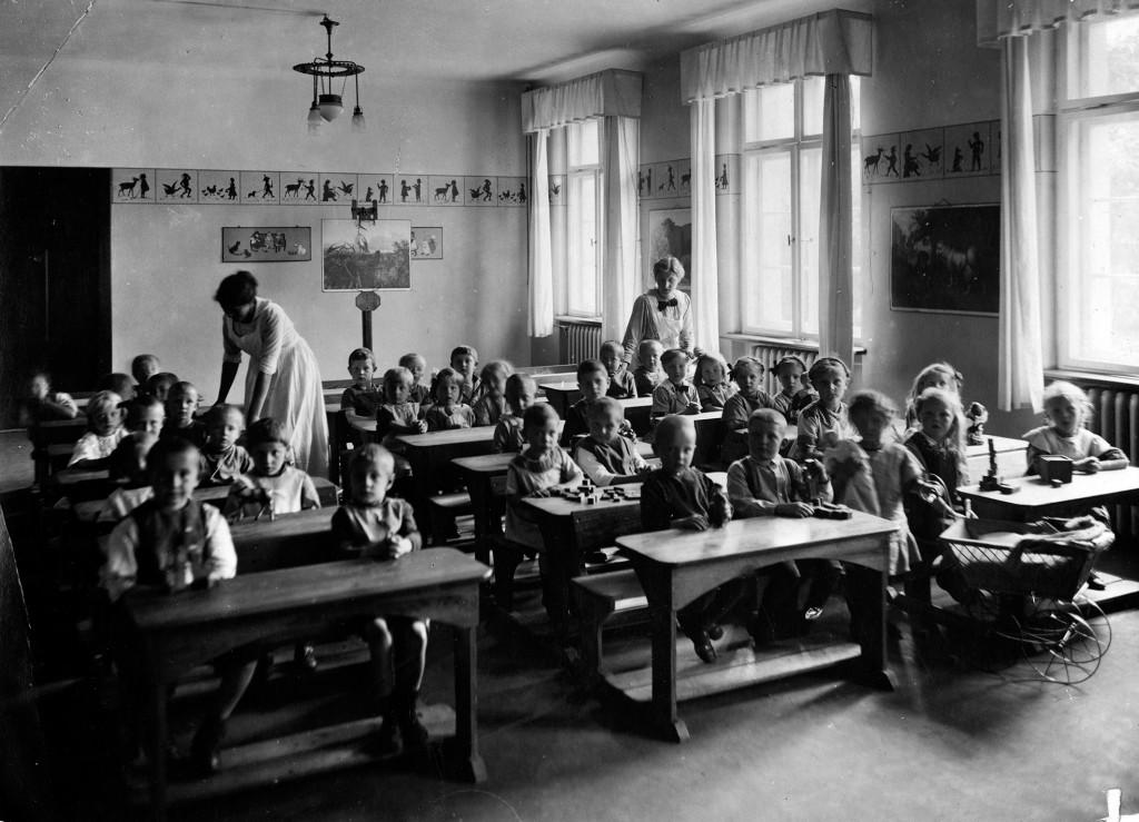 Anfaenge der Kinderbetreuung bei Siemens