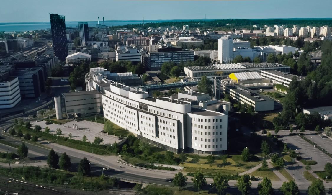 Campus der Universität Tampere, Finnland
