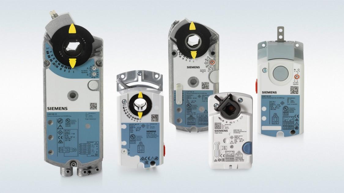 Servomoteurs pour applications CVC