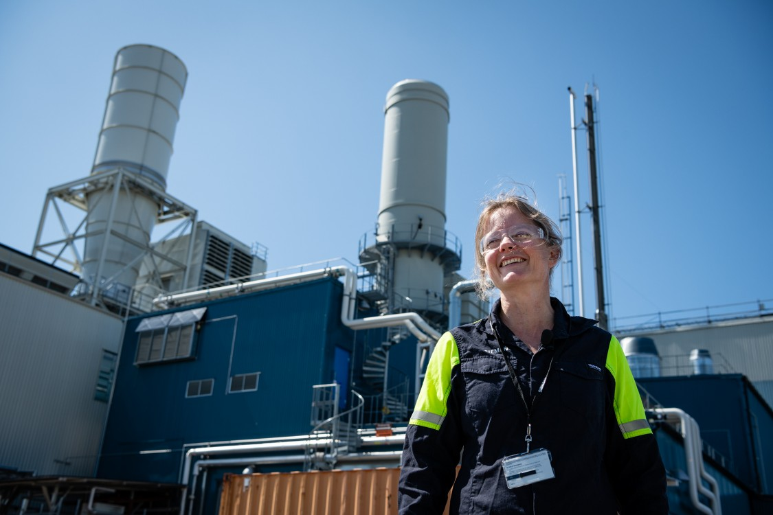 Jenny Larfeldt Hydrogen Gas turbine