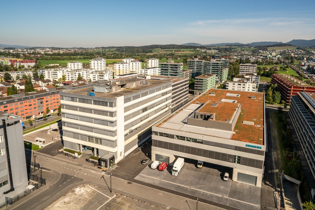 Siemens Campus Zug Production and L+G