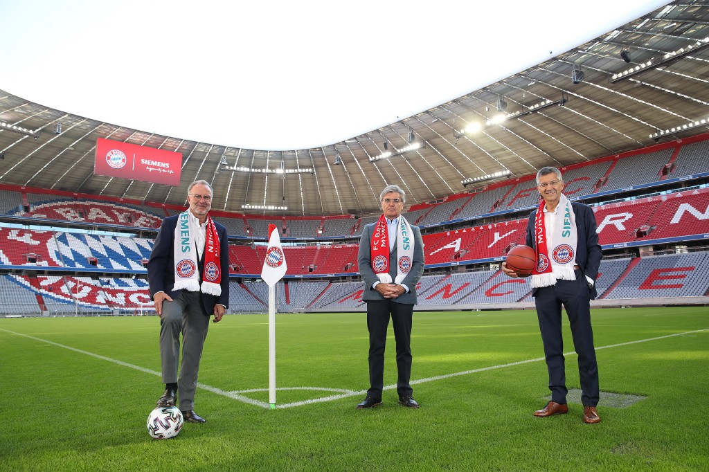 Portrait Shoot Siemens And FC Bayern