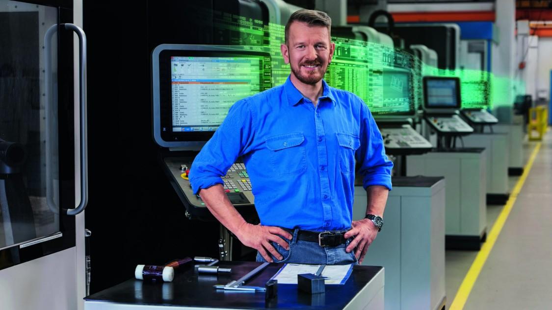 CNC Steuerungen als Bestandteil einer digitalen Lösung für den Maschinenbauer und den Anwender