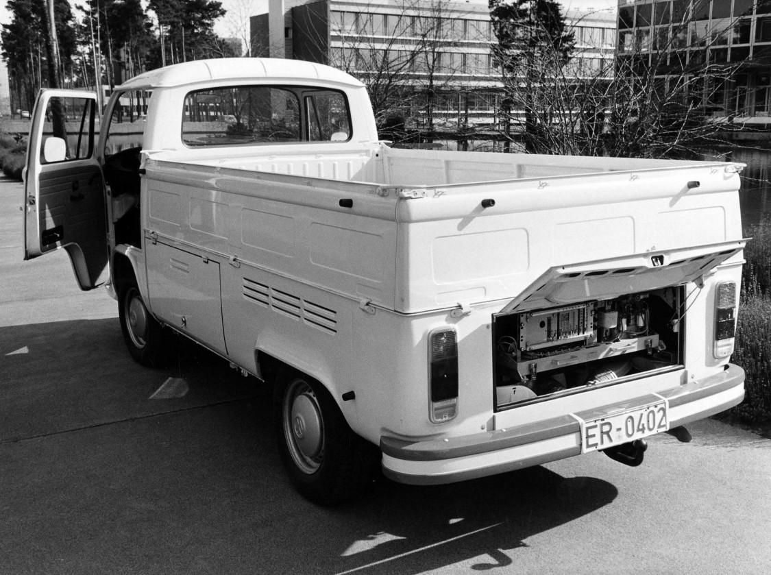 Elektrischer VW-Lieferwagen, 1973