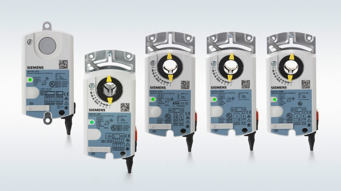 Servomoteurs pour régulateurs de débit volumétrique