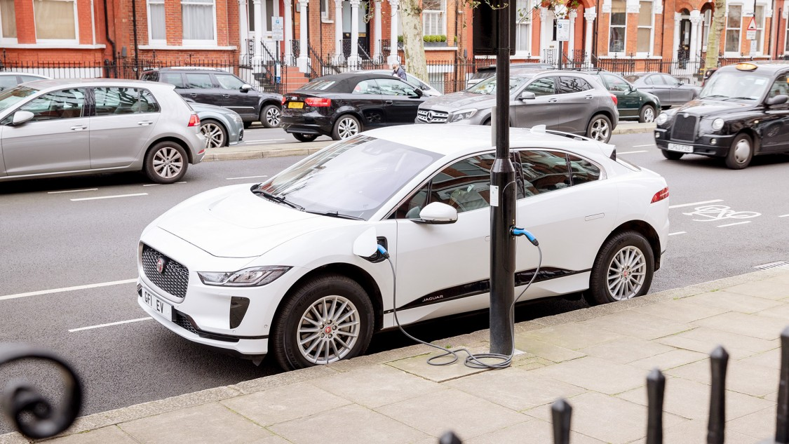 "EV charging in London's ""Electric Avenue"""