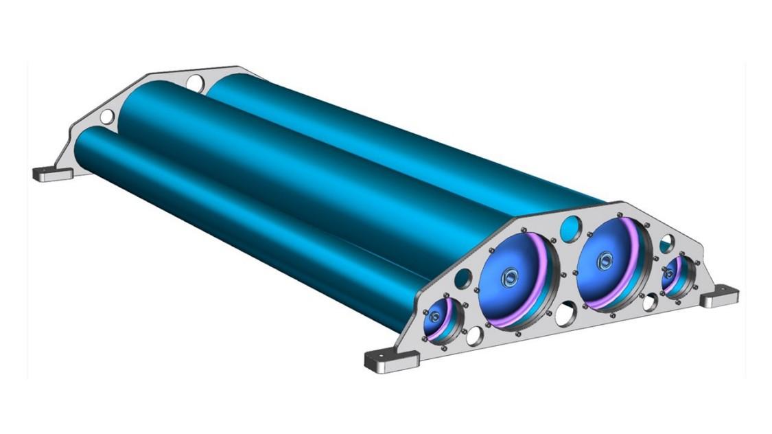 Wasserstofftanksystem des Mireo Plus H