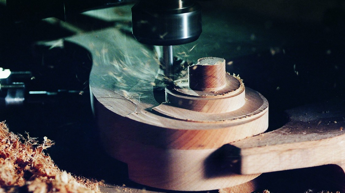 Bild komplexe CNC-Bearbeitungszentren