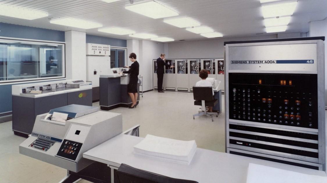 Компьютер «Сименс 4004», 1972 год