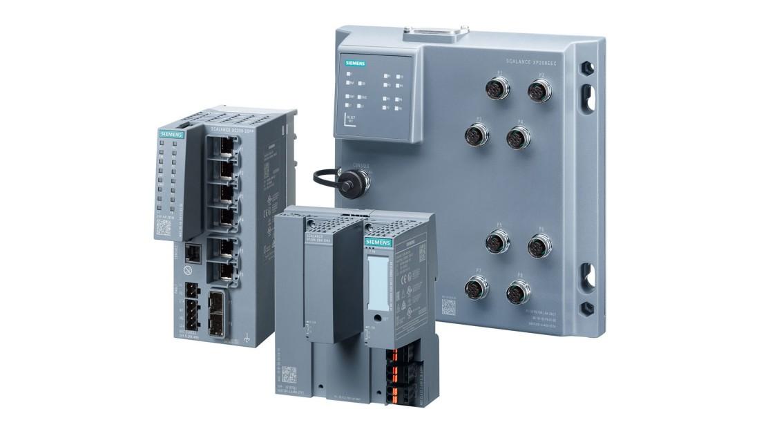 Portfolio produktů switchů pro procesní automatizaci